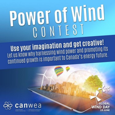 Power of Wind Contest Poster